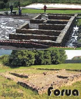 Abierto al público el yacimiento romano de Forua, el más grande de Bizkaia