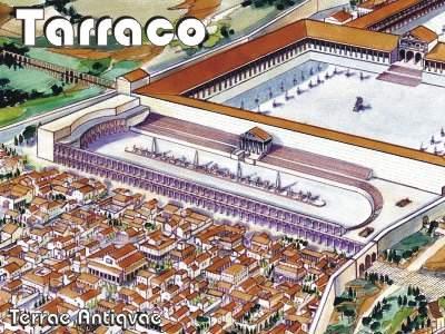 Tarragona. La gran maqueta de Tarraco a punto