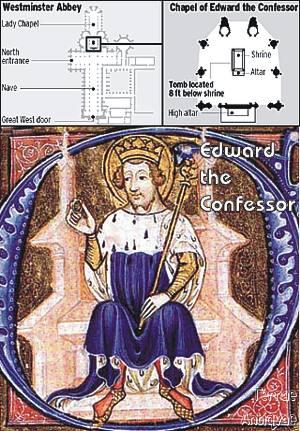 Descubren la tumba original del rey Eduardo el Confesor