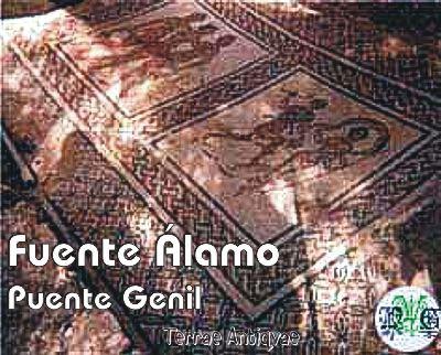 Puente Genil, Córdoba. Hallados valiosos mosaicos romanos y salas del siglo IV en Fuente Álamo