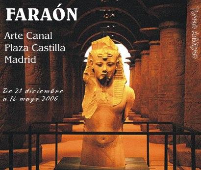 Los antiguos faraones egipcios toman Madrid