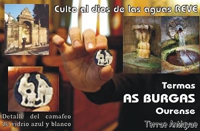 Hallan restos termales y altares al dios prerromano Reve de las aguas en Ourense