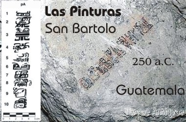 Guatemala. Hallan ejemplo más antiguo de escritura jeroglífica maya