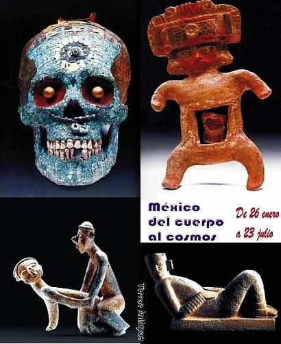 """""""México: del cuerpo al cosmos"""". Joyas del arte precolombino en Santiago, Chile"""
