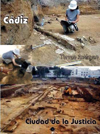 Cádiz. El solar de la Ciudad de la Justicia reúne un centenar de enterramientos romanos
