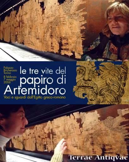 """Turín expone el mapa más antiguo de Occidente: """"El papiro de Artemidoro"""""""