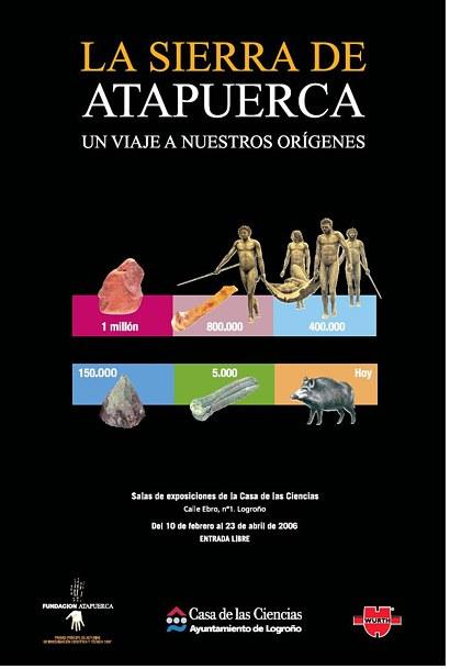'La sierra de Atapuerca. Un viaje a nuestros orígenes'