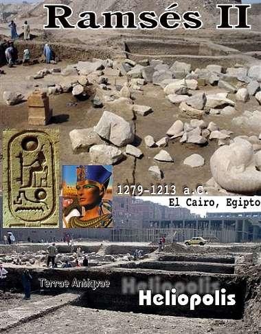 Egipto. Descubren templo con estatuas de Ramsés II en El Cairo