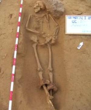 Cádiz. Localizados un total de 128 complejos estructurales funerarios fechados entre finales del siglo VI a.C y el II d.C