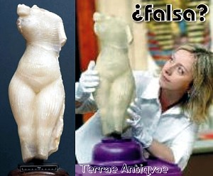 Estatua de princesa egipcia podría ser simple falsificación