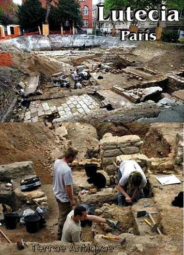 Descubren en París vestigios de un antiguo barrio romano