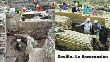 Sevilla. Encuentran más de quinientas lucernas romanas en las excavaciones de la Encarnación
