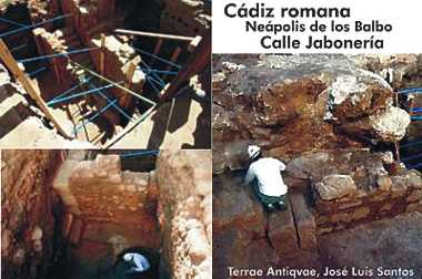 Monumental Cádiz romano en diez metros cuadrados