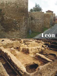 La muralla de León es la única que se levantó con levas llegadas de Oriente