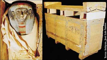 Hallan una momia en perfecto estado de conservación anterior a Tutankamon