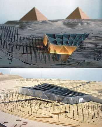 Egipto planea abrir en 2010 un nuevo Museo Arqueológico junto a las pirámides de Giza