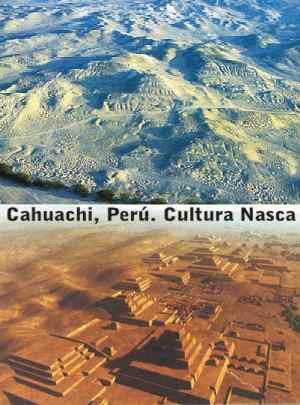 Desentierran una gran pirámide de la cultura Nasca en el sur del Perú