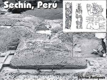 Perú. Descubren templo y plaza circular en el complejo arqueológico de Sechín