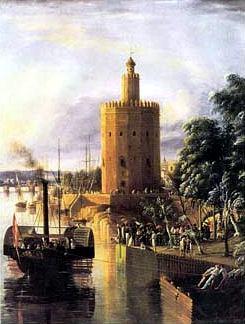 Sevilla. La Torre del Oro, más dorada y «alta»