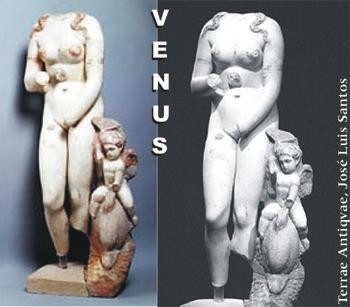 Israel. Exponen estatua de Venus de 1.800 años