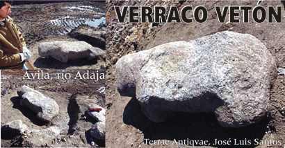 Ávila. Aparece uno de los verracos más antiguos de la provincia