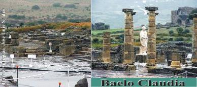 Los últimos trabajos en Baelo Claudia muestran la calzada principal de la villa
