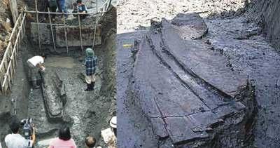 Hallado el barco más antiguo del mundo a 50 Km. de la costa en Corea del Sur