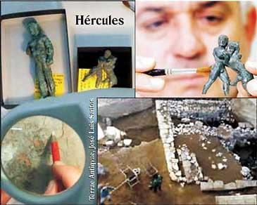 Develan la Morada de Hércules
