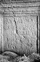 Ibiza. Una lápida romana y una cisterna púnica aparecen en sendas obras en Dalt Vila