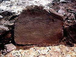 Hallan en Inglaterra una piedra tallada de 4.000 años