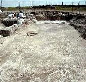 Córdoba. Las obras del polígono El Arca ponen al descubierto unos baños romanos