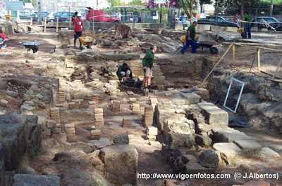 Vigo. Hallan en la villa de Toralla piezas únicas en el mundo romano del siglo IV