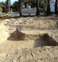 ELCHE. La villa romana junto al huerto de Vizcarra está localizada desde la década de los 70