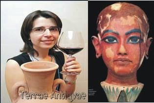 A Tutankamón le gustaba el tinto