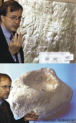 Arqueólogos hallan dos líneas de alfabeto hebreo antiguo