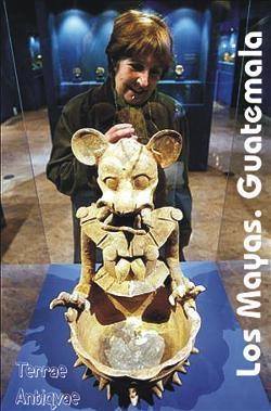 Valencia. El Museu de Prehistòria repasa 3.000 años de cultura maya con la muestra más importante en España sobre este pueblo