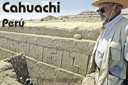 Perú. Hallan muro principal de Cahuachi