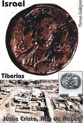 Tiberias, Israel. Encuentran sello con la primera imagen de Jesús