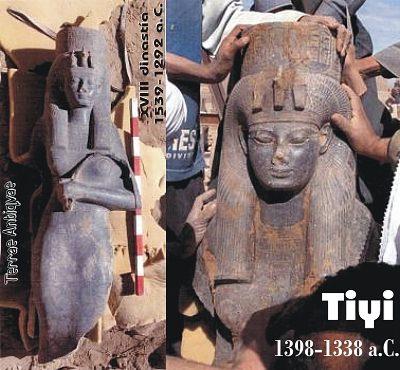 Egipto. Descubren una estatua que corresponde a una reina faraónica de hace 3400 años