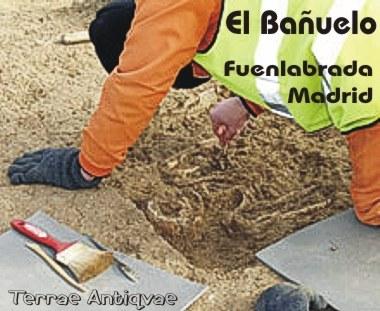 Fuenlabrada, Madrid. Los restos arqueológicos encontrados en El Bañuelo corresponden a la edad del bronce y a la época visigoda