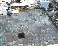Descubren un mosaico romano de casi 60 m2 en Mérida