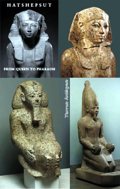 Hatshepsut la reina Faraón. Exposición en El Metropolitan de Nueva York