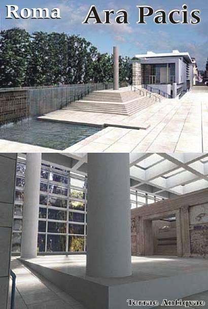 El monumento del Ara Pacis de Roma estrena su 'pecera' tras ocho años de obras
