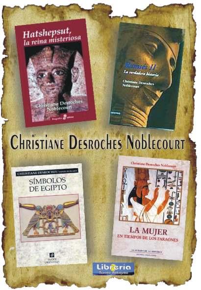 Christiane Desroches Noblecourt.  Egiptóloga