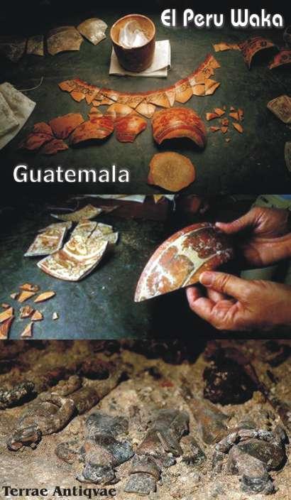 Guatemala. Arqueólogos descubren una tumba maya y desafían a saqueadores