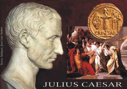 Cayo Julio César, fragmento de Vidas paralelas. Plutarco