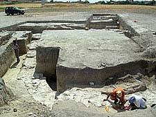 Segovia. Descubren en Coca restos de un gran edificio romano