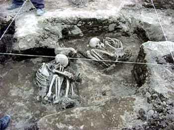 Confirman sacrificios humanos de aztecas
