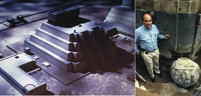 México. Las guerras determinaron crecimiento de la pirámide del Templo Mayor. Cambió 12 veces en 100 años; la de la Luna, en Teotihuacán, siete en 500 años