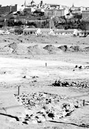 Toledo. Aparecen numerosas casas visigodas y enterramientos en los trabajos arqueológicos de la Vega Baja